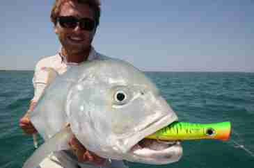 Northern Territory GT (Giant Trevally) Fishing Charters