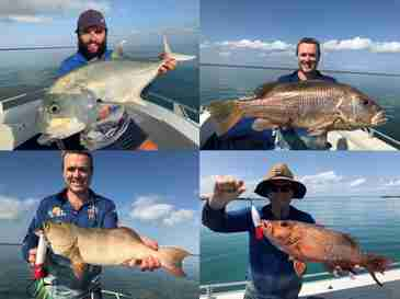 200+ Fish caught in 1 day fishing the Cobourg Peninsula, Arnhem Land